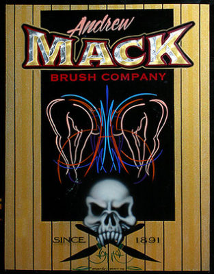 #91 Brian Briskie 'Brian the Brush', Adams Basin, New York July 2006, Airbrush and Pinstriping - a very nice piece!